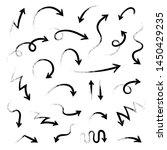 super set different hand drawn... | Shutterstock .eps vector #1450429235