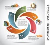 infographic template. eps 10... | Shutterstock .eps vector #145046116