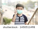 a 5 years old boy wearing a... | Shutterstock . vector #1450511498
