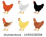 iillustration of six different... | Shutterstock .eps vector #1450528508