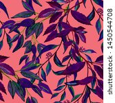 watercolor seamless pattern... | Shutterstock . vector #1450544708