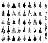 christmas tree icon  logo or...   Shutterstock .eps vector #1450573985