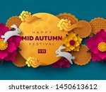 chinese mid autumn festival... | Shutterstock .eps vector #1450613612