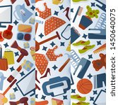 online shopping background... | Shutterstock .eps vector #1450640075