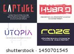 collection of various trendy... | Shutterstock .eps vector #1450701545
