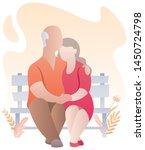 cartoon illustration of elderly ...   Shutterstock .eps vector #1450724798