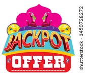 jackpot offer logo unit for... | Shutterstock .eps vector #1450728272