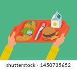 school lunch program concept... | Shutterstock .eps vector #1450735652
