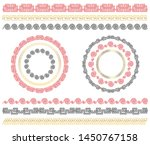chinese traditional ornaments.... | Shutterstock .eps vector #1450767158