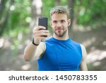 sport app on phone. digital...