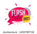 flash sale promotional banner... | Shutterstock .eps vector #1450789718