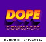 strong bold font effect with... | Shutterstock .eps vector #1450839662