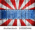 Usa Style Background Painted O...