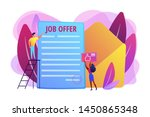 successful business deal.... | Shutterstock .eps vector #1450865348