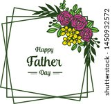 card texture for happy father... | Shutterstock .eps vector #1450932572