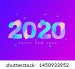 2020 logo graphics for new year ... | Shutterstock .eps vector #1450933952