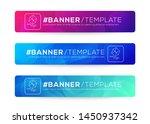 abstract web banner design... | Shutterstock .eps vector #1450937342