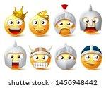 emoji face vector character set.... | Shutterstock .eps vector #1450948442