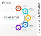 infographic design template....   Shutterstock .eps vector #1450964702