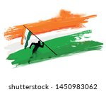 happy independence day india ... | Shutterstock .eps vector #1450983062