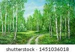 Summer Rural Landscape In...