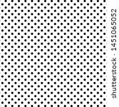 dotted pattern. black repeat... | Shutterstock .eps vector #1451065052