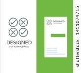 creative  cross  design  tick... | Shutterstock .eps vector #1451074715