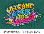concept of education. school... | Shutterstock .eps vector #1451081642