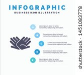 charity  hands  help  helping ... | Shutterstock .eps vector #1451083778