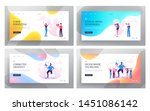 social media relations  blog ... | Shutterstock .eps vector #1451086142