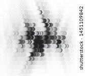 vintage halftone monochrome... | Shutterstock .eps vector #1451109842