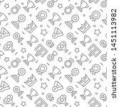 award related seamless pattern...   Shutterstock .eps vector #1451113982