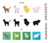 vector illustration of breeding ... | Shutterstock .eps vector #1451154275