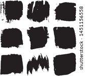 vector dry brush stroke grunge. ...   Shutterstock .eps vector #1451156558