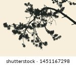 pine tree and branches... | Shutterstock .eps vector #1451167298