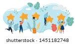 cartoon vector illustration of... | Shutterstock .eps vector #1451182748