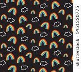 bright background pattern.... | Shutterstock .eps vector #1451230775