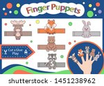 Finger Puppets. Cut And Glue...