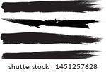 grunge paint stripe . vector... | Shutterstock .eps vector #1451257628