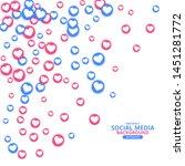social network marketing like...   Shutterstock .eps vector #1451281772