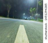 night overpass highway china sky | Shutterstock . vector #1451294285