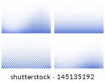 vector illustration of a dotted ... | Shutterstock .eps vector #145135192
