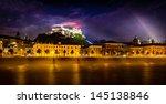 Night View Of Salzburg  Austri...