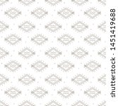 ethnic samless pattern. vector... | Shutterstock .eps vector #1451419688