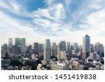 Cityscape Of Tokyo City  Japan. ...
