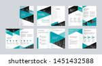 template layout design with... | Shutterstock .eps vector #1451432588