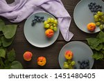 fruit is the basis of healthy... | Shutterstock . vector #1451480405