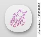 manual wheelchair app icon....