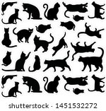 cats templates stacked stickers ... | Shutterstock .eps vector #1451532272