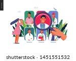 find a doctor  medical... | Shutterstock .eps vector #1451551532
